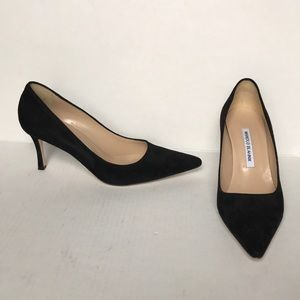 ✨PRICE DROP✨Manolo Blahnik Carolyne Black Heels
